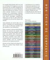 Le Cavalier King Charles - 4ème de couverture - Format classique
