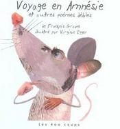 Voyage En Amnesie Et Autres Poemes Debiles - Intérieur - Format classique