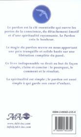 Pardon. La Cle De L'Evolution - 4ème de couverture - Format classique