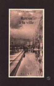 Retour A La Ville - Couverture - Format classique
