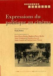 Expressions Du Politique Au Cinema - Couverture - Format classique