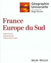 Vente livre :  France ; Europe du Sud  - Robert Ferras