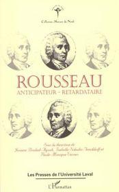 Rousseau Anticipateur Retardataire - Intérieur - Format classique