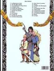La gardienne des clés - 4ème de couverture - Format classique
