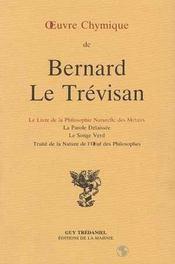Oeuvre Chymique B. Le Trevisan - Intérieur - Format classique