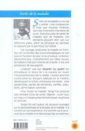 Soigner ou guerir ; regards d'un therapeute radiesthesiste - 4ème de couverture - Format classique