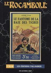 Revue Rocambole N.39 ; Le Fantôme De La Baie Des Tigres - Intérieur - Format classique