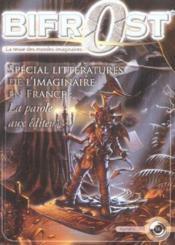Revue Bifrost N.36 ; Spécial Littératures De L'Imaginaire En France - Couverture - Format classique