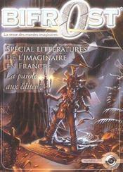 Revue Bifrost N.36 ; Spécial Littératures De L'Imaginaire En France - Intérieur - Format classique