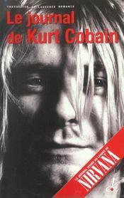 Le Journal De Kurt Cobain - Intérieur - Format classique