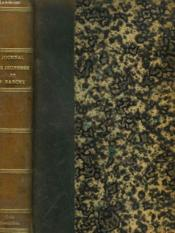JOURNAL DE JEUNESSE DE FRANCISQUE SARCEY (1839-1857). Recueilli et annoté par Adolphe Brisson et suivi d'un choix de Chroniques. - Couverture - Format classique