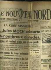 Le Nouveau Nord Maritime N°909 - 5eme Annee - Mardi 11 Ocotbre 1949. - Couverture - Format classique