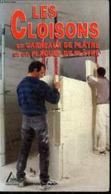 Cloisons - Couverture - Format classique