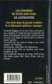 Le Secret De La Chambre Noire - 4ème de couverture - Format classique
