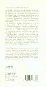 Pierre Bleu - 4ème de couverture - Format classique
