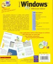 Windows Le Tout En Images - 4ème de couverture - Format classique