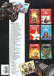Spirou et Fantasio t.39 ; Spirou et Fantasio à New York - 4ème de couverture - Format classique