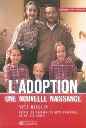 L'adoption, une nouvelle naissance - Intérieur - Format classique