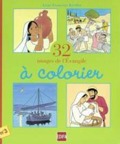 32 images de l'évengile à colorier ; cahier n°3 - Couverture - Format classique