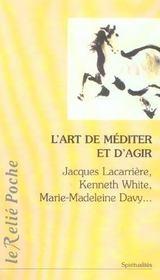 L'Art De Mediter Et D'Agir - Intérieur - Format classique