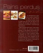 Pains perdus - 4ème de couverture - Format classique