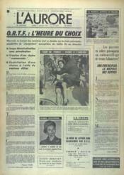 Aurore (L') N°9277 du 01/07/1974 - Couverture - Format classique
