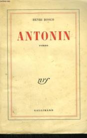 Antonin - Couverture - Format classique