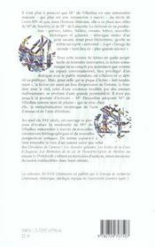 Madame De Villedieu Romanciere ; Nouvelles Perspectives De Recherches - 4ème de couverture - Format classique