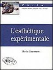 L'Esthetique Experimentale - Couverture - Format classique