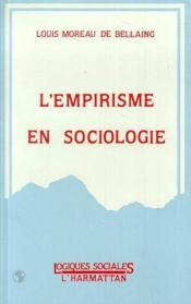 L'empirisme en sociologie - Couverture - Format classique
