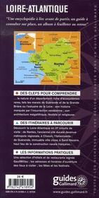 Loire atlantique ; nantes, clisson, pornic, guérande, la baule... - 4ème de couverture - Format classique