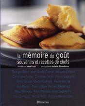 La mémoire du goût ; souvenirs et recettes de chefs - Intérieur - Format classique