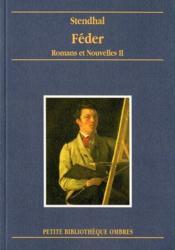Romans Et Nouvelles Ii - Feder - Couverture - Format classique