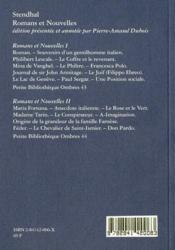 Romans Et Nouvelles Ii - Feder - 4ème de couverture - Format classique