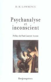 Psychanalyse Et Inconscient - Intérieur - Format classique