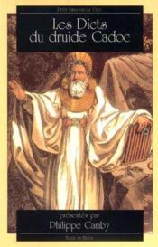 Dicts du druide cadoc. - Couverture - Format classique