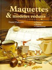 Maquettes et modèles reduits - Intérieur - Format classique