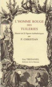 Homme rouge des Tuileries - Couverture - Format classique