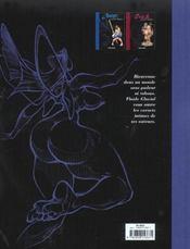 Carnets Intimes T.1 ; Coyote - 4ème de couverture - Format classique