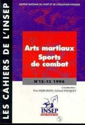 Cahier insep n 12-13 artsmartiaux-sports co - Couverture - Format classique