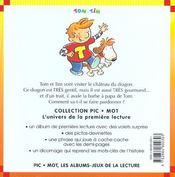 Le Bonhomme De Neige - 4ème de couverture - Format classique
