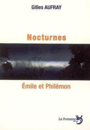 Nocturnes ; Emile et Philémon - Couverture - Format classique