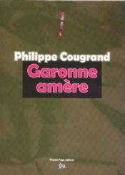 Garonne amere - Couverture - Format classique