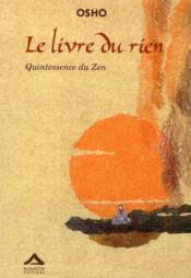 Le livre du rien, quintessence du zen - Couverture - Format classique