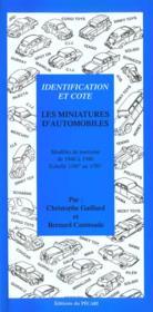 Les Miniatures Dautomobiles - Couverture - Format classique