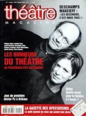 Theatre Magazine N°1 du 01/04/1999 - Couverture - Format classique