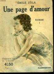 Une Page D'Amour. Collection : L'Amour N° 26 - Couverture - Format classique