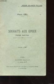 Souhaits Aux Epoux - Poeme Nuptial - Couverture - Format classique