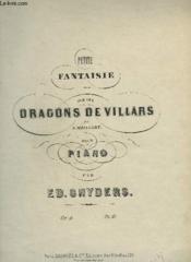 Petite Fantaisie Sur Les Dragons De Villars - Pour Piano. - Couverture - Format classique