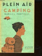Plein Air Et Camping - Couverture - Format classique